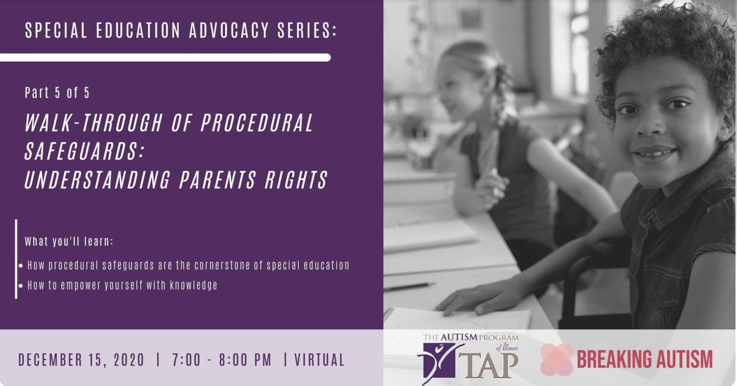 Walk-through of Procedural Safeguards: Understanding Parents Rights